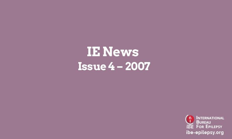 IE News - Issue 4 – 2007