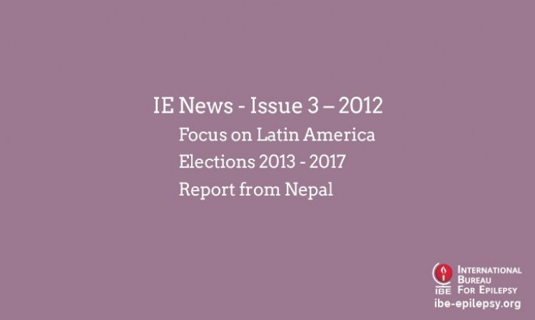 IE News - Issue 3 – 2012