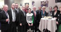 PHOTOGRAPHED AT EED 2013 IN THE EUROPEAN PARLIAMENT (left-right): Jim Higgins MEP, Francisco José Millán Mon MEP, Filip Kaczmarek MEP, Gay Mitchell MEP, Anna Záborská MEP, Veronika Mitykó, Pat The Cope Gallagher MEP, Sean Kelly MEP,    , Kristzina Danczik, Dr. Judit Jerney M.D., President of the Hungarian Epilepsy League (Hungarian Chapter of the International League Against Epilepsy) and Ann Little Executive Director IBE (International Bureau for Epilepsy)