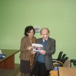 Prof Kruja and Prof Kuqo