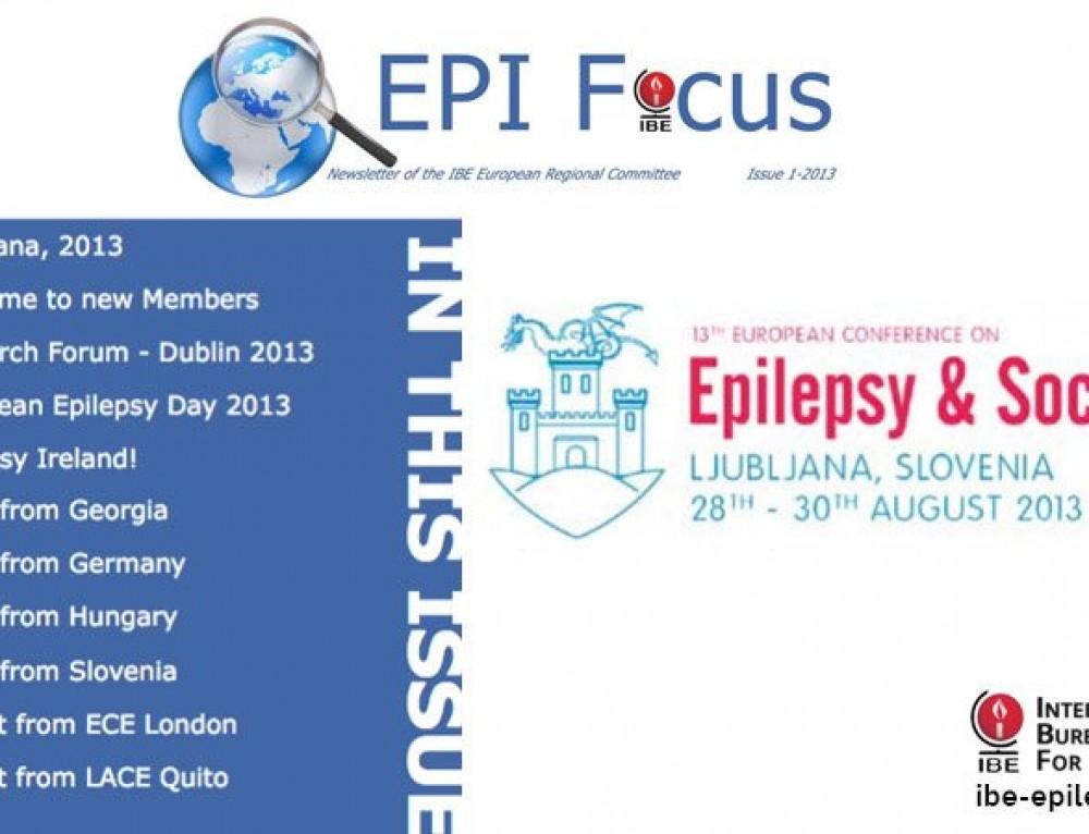 EPIFocus Issue 1 – 2013