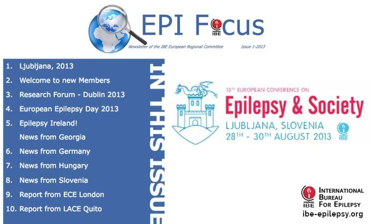 EPIFocus Issue 1-2013 - ibe-epilepsy