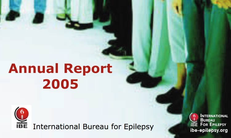 Annual Report 2005 - Ibe-epilepsy