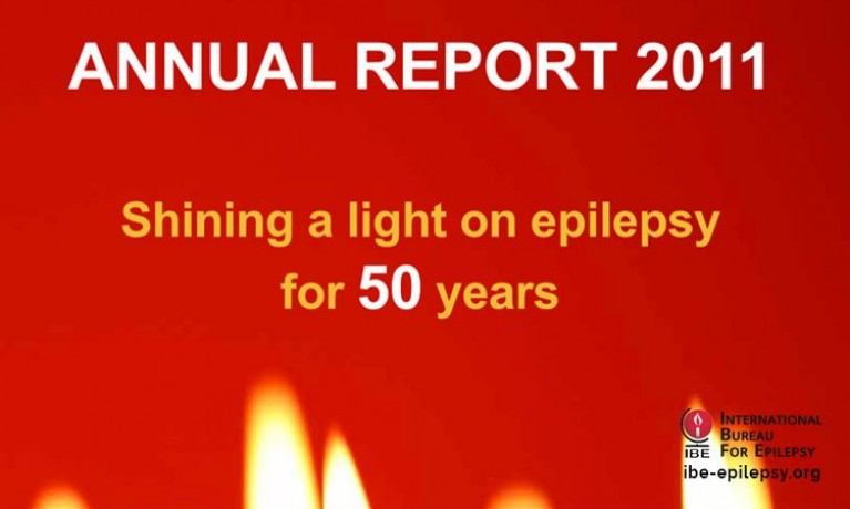 Annual Report 2011 - Ibe-epilepsy