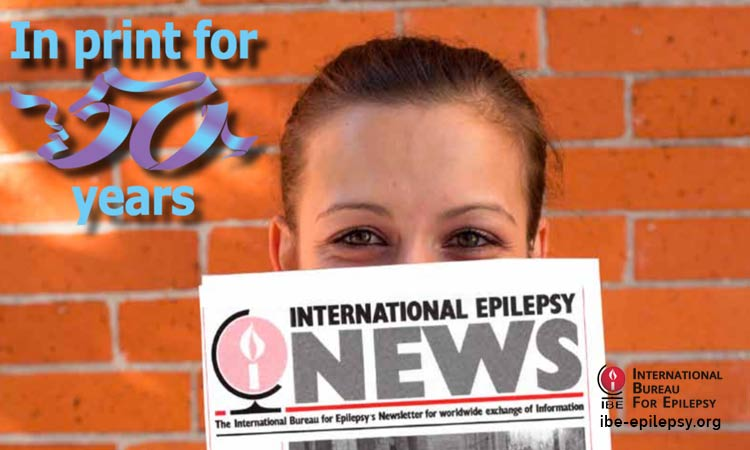 IE News- Issue 1 – 2013 - ibe-epilepsy