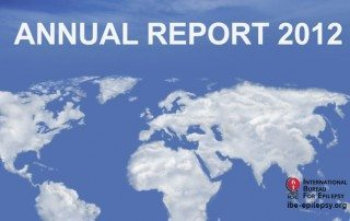 Annual Report 2012 - Ibe-epilepsy