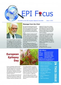 Cover  EPI Focus Issue 1-2010