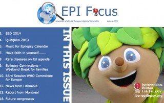 EPIFocus Issue 2 – 2013 - ibe-epilepsy
