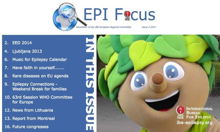 EPIFocus Issue 2 – 2013 - ibe-epilepsy