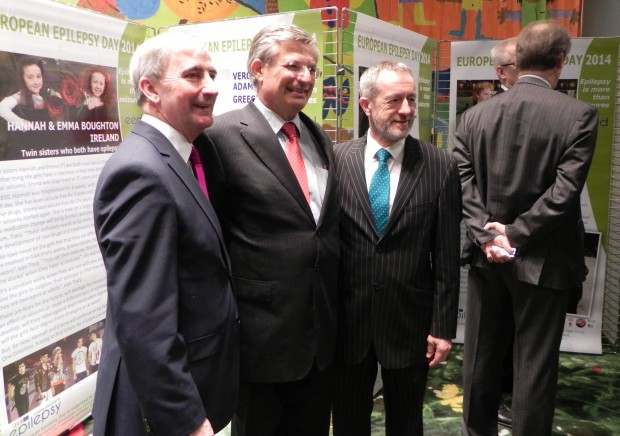 Gay Mitchell: MEP Ireland, Tonio Borg: EU Commissioner For Health, Jim Higgins: MEP Ireland