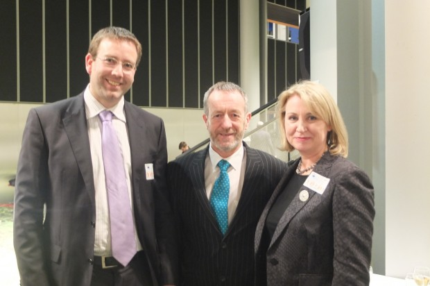 Ciaran Duffy: Enterprise Ireland, Sean Kelly: MEP Ireland, Shirley Maxwell: ILAE IBE Joint Task Force