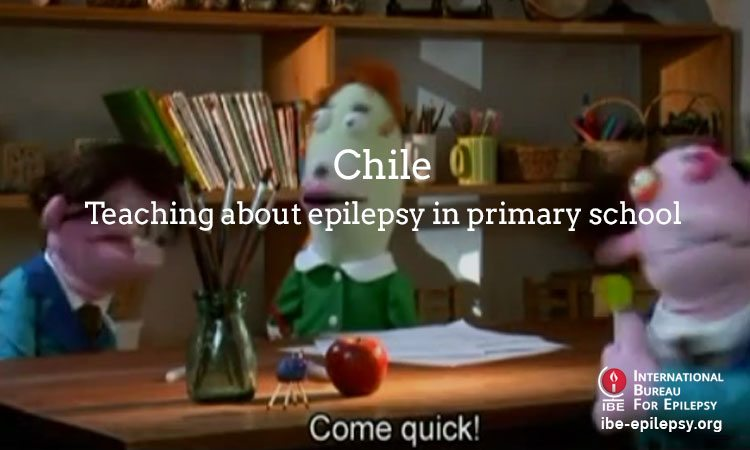 Chile - Teaching about epilepsy in primary school