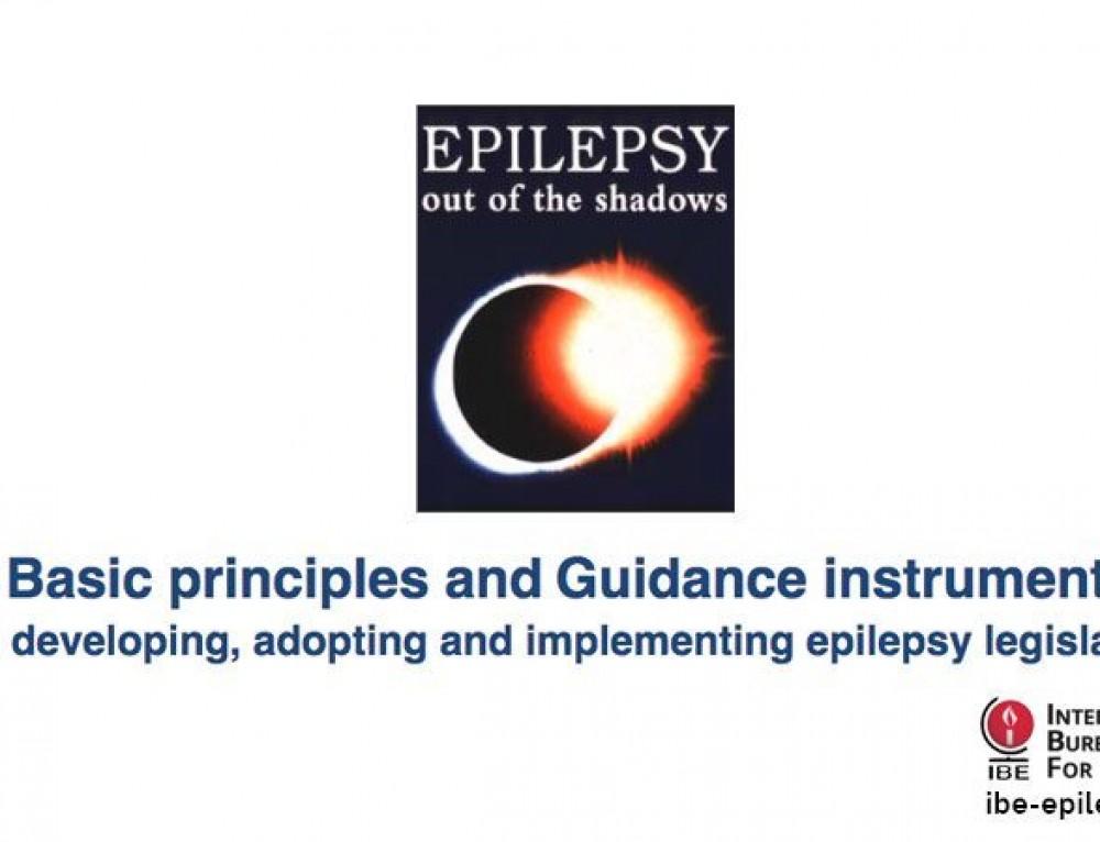Epilepsy and Legislation