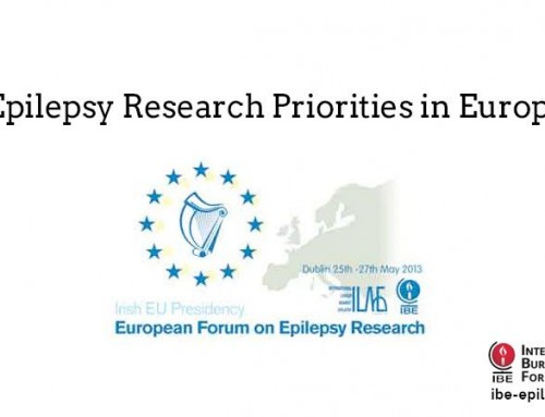 Epilepsy Research Priorities in Europe