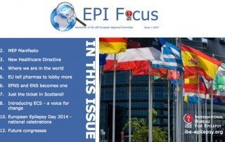 EPIFocus Issue 1 – 2014 - ibe-epilepsy