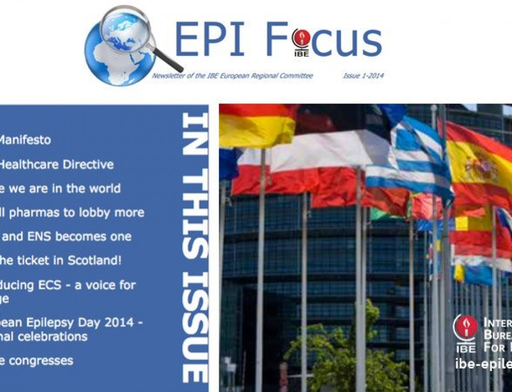 EPIFocus Issue 1 – 2014