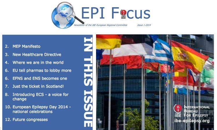 EPIFocus Issue 1 – 2014 - ibe-epilepsy