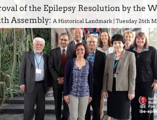 Approval of the Epilepsy Resolution by the World Health Assembly: A Historical Landmark