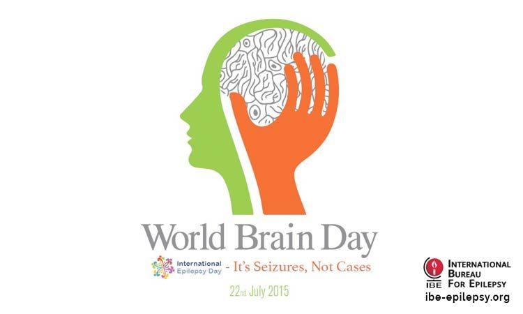 22 July- World Brain Day 2015 devoted to epilepsy