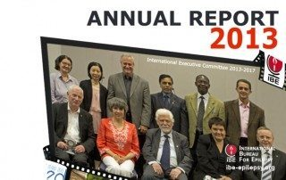 Annual Report 2013 - Ibe-epilepsy
