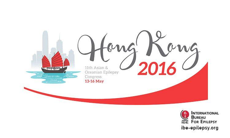 11th Asian & Oceanian Epilepsy Congress Hong Kong 13th to 16th May 2016