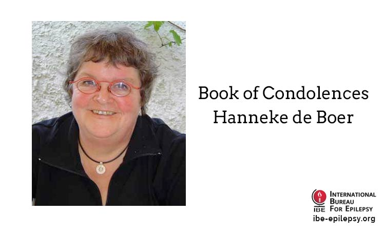 Book of Condolences - Hanneke de Boer