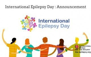 International Epilepsy Day - Announcement