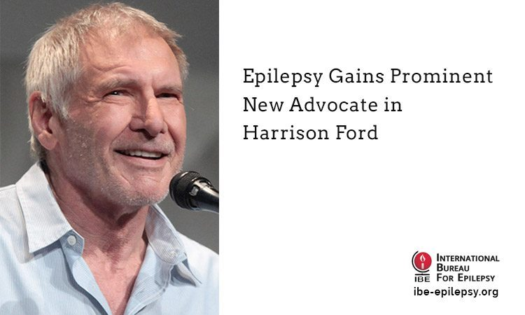 Epilepsy Gains Prominent New Advocate in Harrison Ford