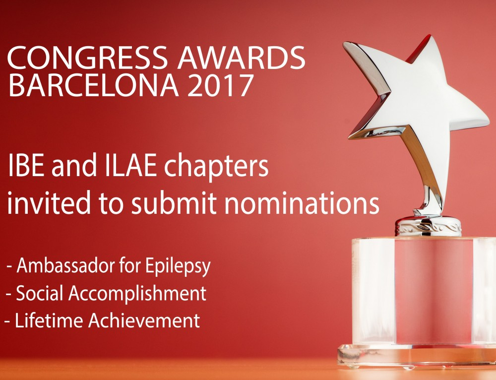 Nominations Open for 2017 Ambassador for Epilepsy Awards