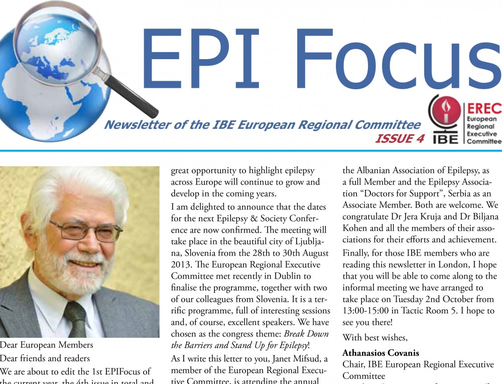 EpiFocus Issue 2 – 2012