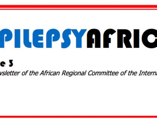 EPILEPSY AFRICA NEWSLETTER 3, NOVEMBER 2017