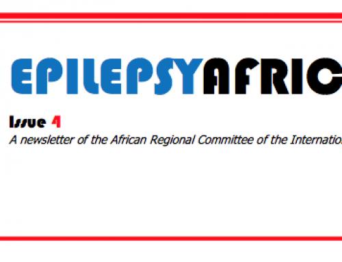 Epilepsy Africa News – Issue 4