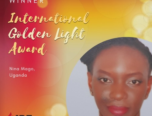 Nina Mago, Uganda – IBE Golden Light Award Winner 2019