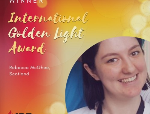 Rebecca McGhee, Scotland – IBE Golden Light Award Winner 2019