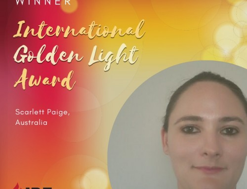Scarlett Paige, Australia – IBE Golden Light Award Winner 2019