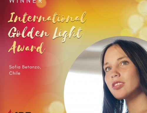 Sofia Betanzo, Chile – IBE Golden Light Award Winner 2019
