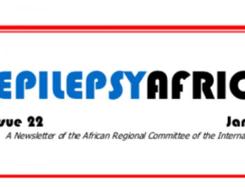 Epilepsy Africa News – Issue 22
